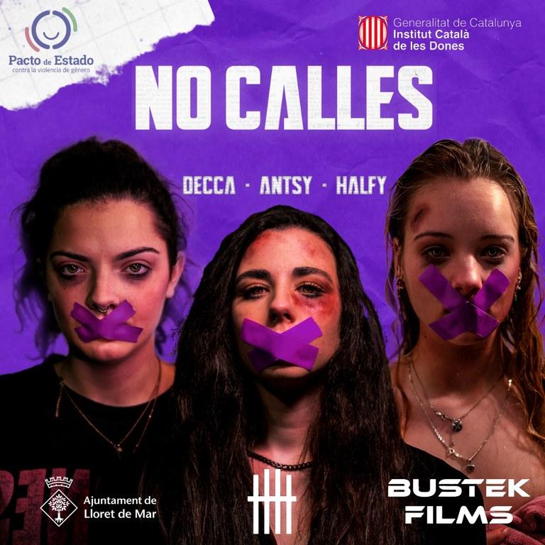 'No callis', el videoclip que mostra la violència de gènere a través dels ulls de joves de Lloret
