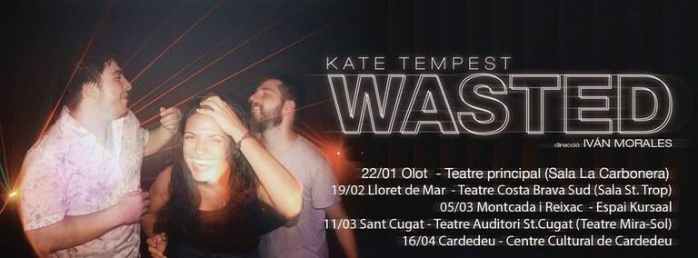 'Wasted' dels Íntims Produccions, a la discoteca St. Trop dins de la programació de l'Espai Off del Teatre de Lloret