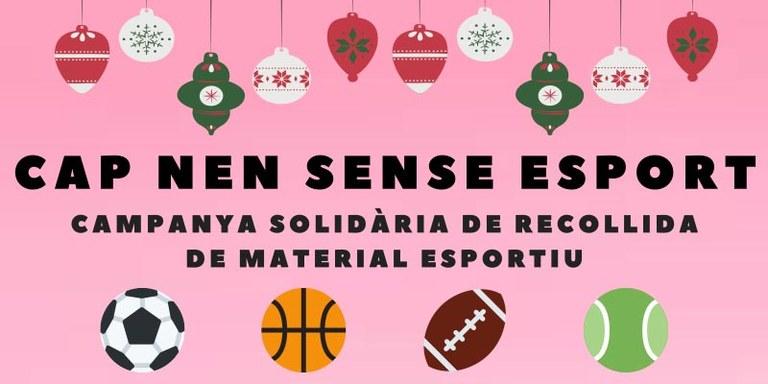 """""""Cap Nen Sense Esport"""", campanya solidària a Lloret"""