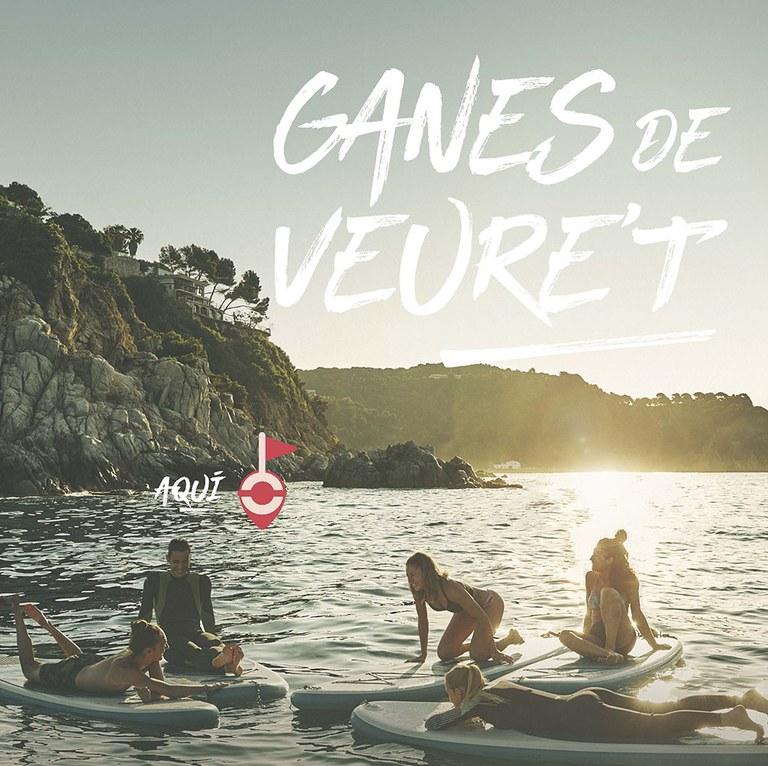 """""""Ganes de veure't aquí...a Lloret de Mar"""", la nova campanya de promoció turística de Lloret Turisme"""
