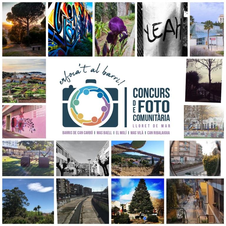 40 fotos participen al concurs de fotografia comunitària dels barris de Can Carbó, Mas Baell, el Molí, Mas Vilà i Can Ribalaigua