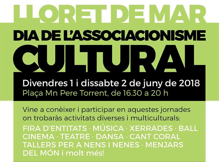 Aquest cap de setmana Lloret celebra el dia de l'associacionisme cultural