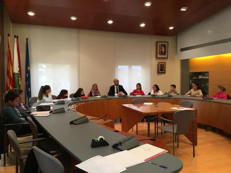 Aquest mes de febrer s'ha iniciat per novè any consecutiu l'Ajuntament dels Infants a Lloret de Mar