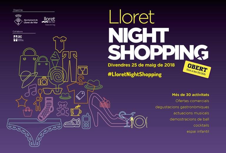 Arriba a Lloret una nova edició del Lloret Night Shopping