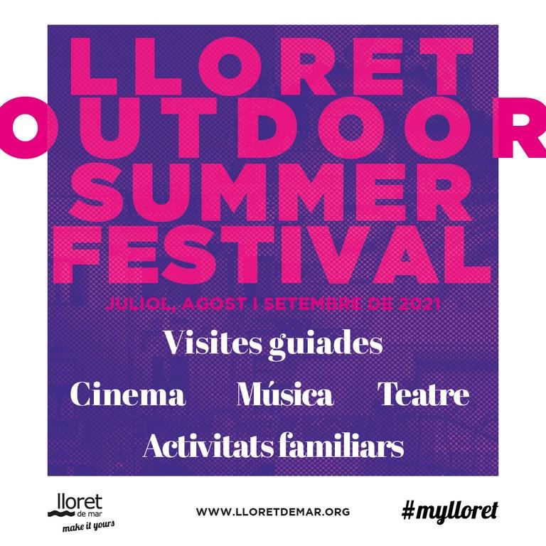 Comença la cinquena edició de Lloret Outdoor Summer Festival