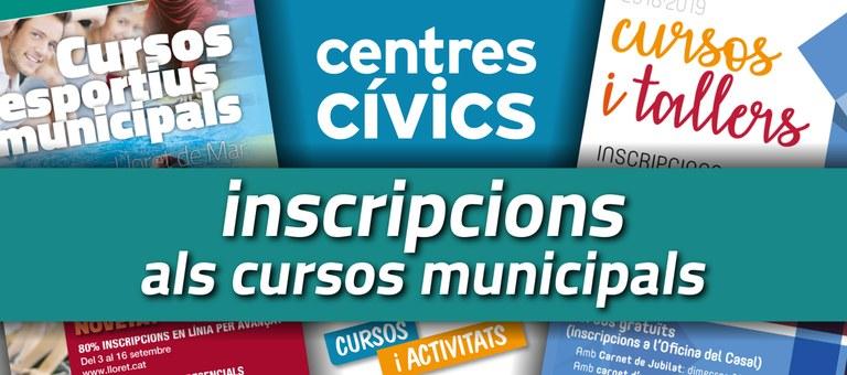 Comencen les inscripcions als cursos i activitats d'esports dels centres cívics i del Casal Municipal de la Gent Gran de Lloret de Mar