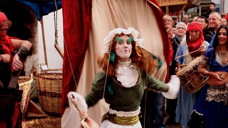Espectacles itinerants i cercaviles musicals ompliran el cap de setmana a la Fira Medieval de Lloret de Mar