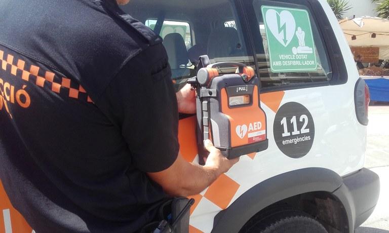 Dipsalut cedeix 4 desfibril·ladors mòbils més a Lloret