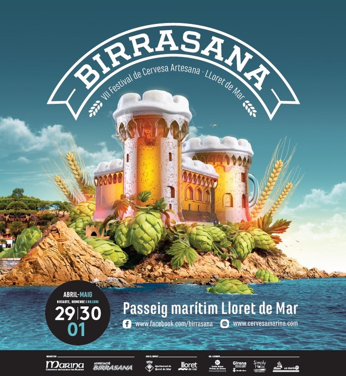 El Festival Birrasana arriba a Lloret amb els millors cervesers artesanals nacionals i internacionals