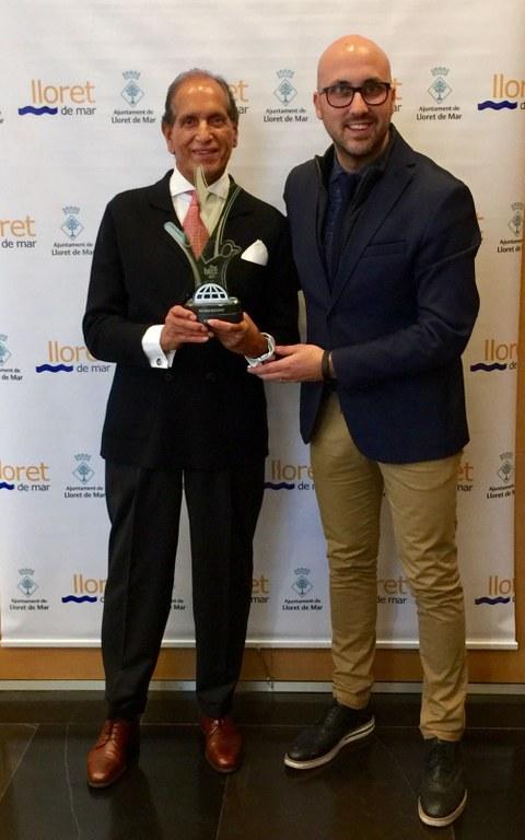 El lloretenc Allah Dad Raja és distingit amb el prestigiós premis THE BIZZ 2017