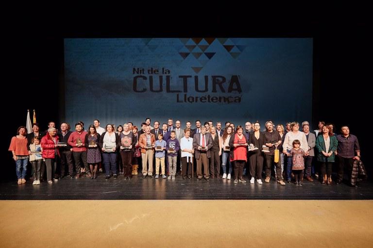 El lloretenc Jaume Soliguer rep el guardó Sa Gavina de la Nit de la Cultura Lloretenca