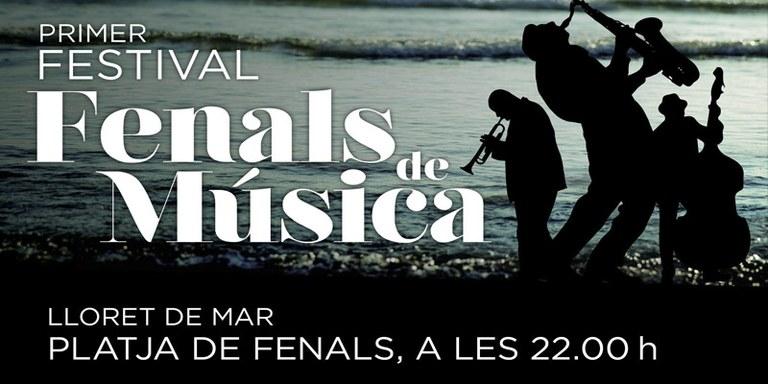 """El primer festival """"Fenals de Música"""", tria la platja de Fenals de Lloret per a celebrar quatre concerts"""