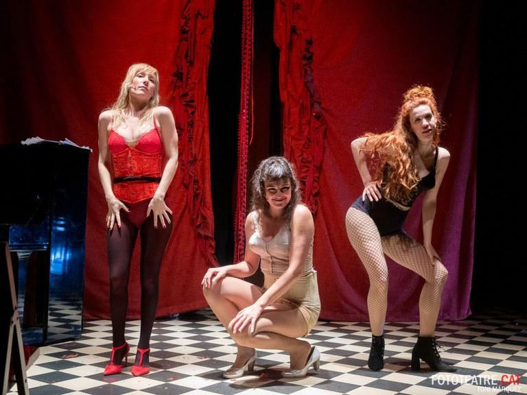 """El Teatre de Lloret acull el proper diumenge dia 10 de novembre la representació de l'obra de teatre social """"La Negra""""."""