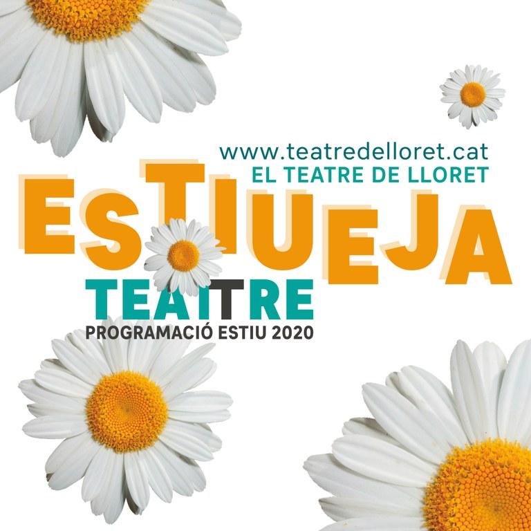 El Teatre de Lloret ofereix programació cultural aquest estiu a l'aire lliure