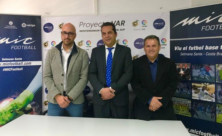 El VAR es posarà en pràctica en el torneig de futbol base MIC en partits de juvenils que es juguin a Lloret de Mar