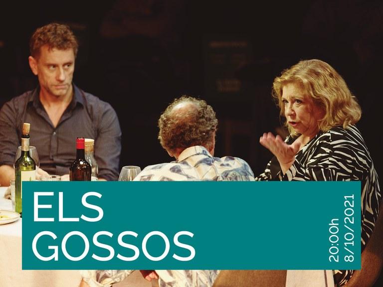 Els Gossos, una producció de la Sala Trono i el Festival Grec obre demà temporada al Teatre de Lloret