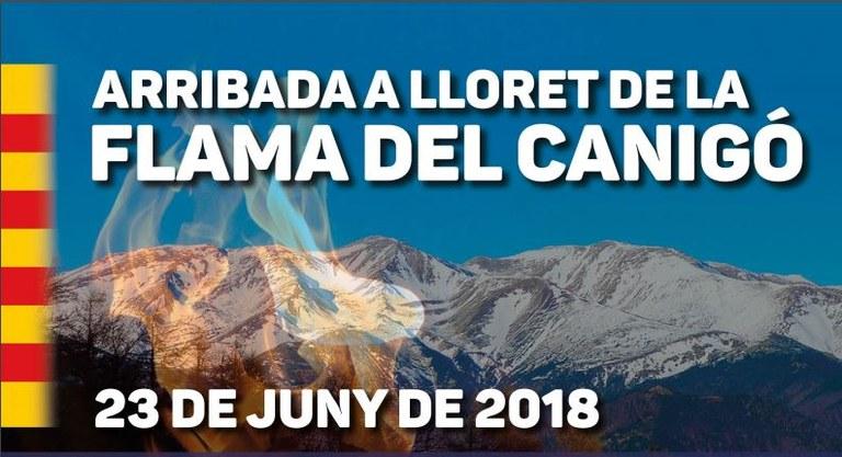 Els Moters de Lloret, juntament amb la Penya Ciclista, portaran la Flama del Canigó al municipi el dissabte 23 de juny, per la revetlla de Sant Joan