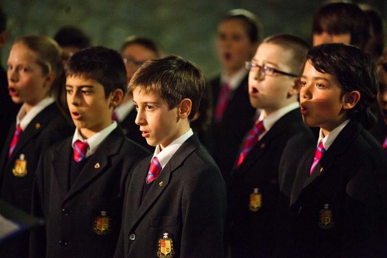 Els Petits Cantors d'Andorra actuen a Lloret