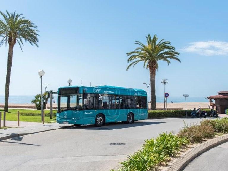 Els usuaris de Lloret Bus puntuen amb un 8,6 el servei de transport urbà de Lloret