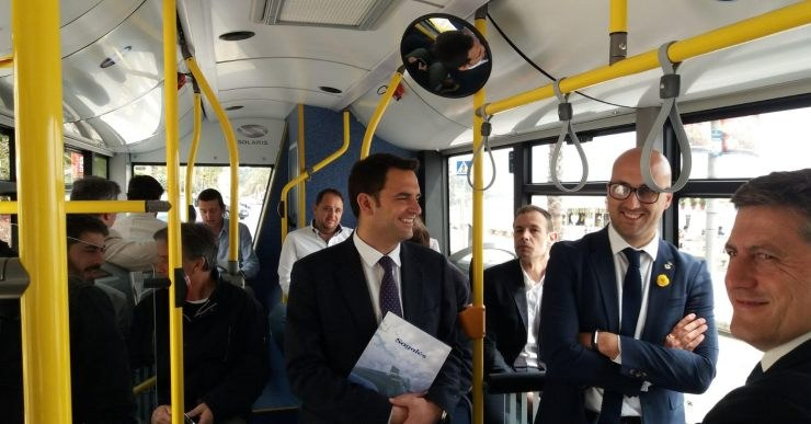 Els usuaris de Lloret Bus puntuen amb un 9,5 el servei de transport urbà de Lloret