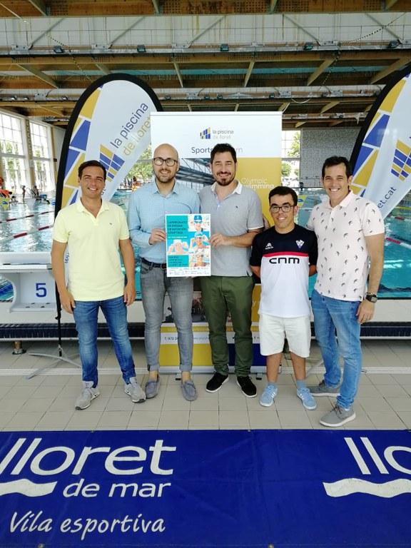 Es presenta a Lloret el Campionat d'Espanya de Natació Adaptada