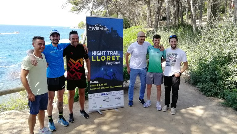 Es presenta la tercera edició de la Lloret Night Trail