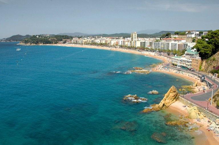 Experts mundials d'urbanisme estudien el model el turístic de Lloret per plantejar millores