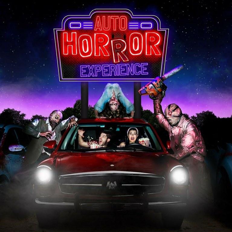 Lloret de Mar seu  de l'Auto Horror Experience creat per Horror Box i Focus Experience