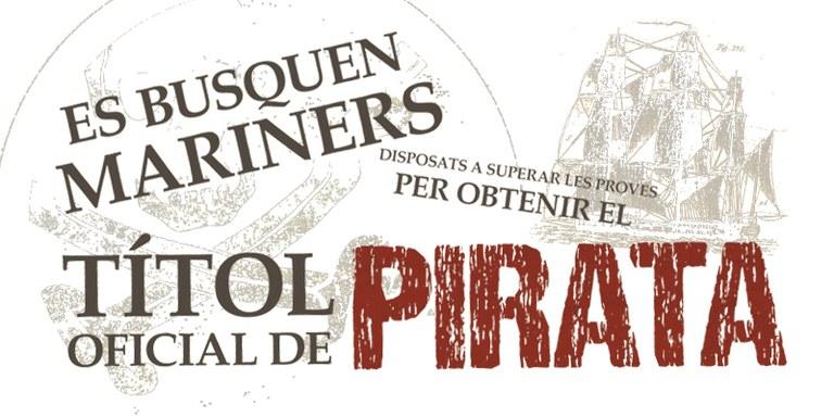 L'Acadèmia Pirata, el nou taller pels dissabtes de novembre que proposa el Museu del Mar de Lloret