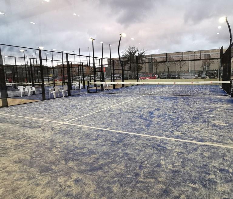 L'Ajuntament de Lloret de Mar obre demà la zona de raquetes de la zona esportiva