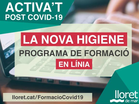 L'Ajuntament de Lloret de Mar ofereix una actualització del pla formatiu COVID-19 del 2021 per a tots els treballadors del sector turístic