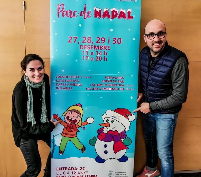 L'Ajuntament de Lloret de Mar organitza un parc de Nadal