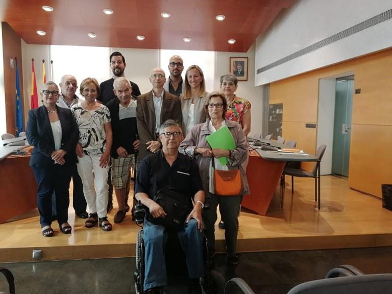 L'Ajuntament de Lloret de Mar signa convenis de col·laboració amb diferents entitats socials