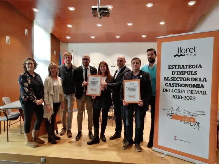 L'Ajuntament de Lloret de Mar signa un conveni de col·laboració amb l'Associació Celíacs de Catalunya