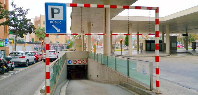 L'Ajuntament de Lloret recupera la gestió de l'aparcament subterrani de l'estació d'autobusos de Lloret de Mar