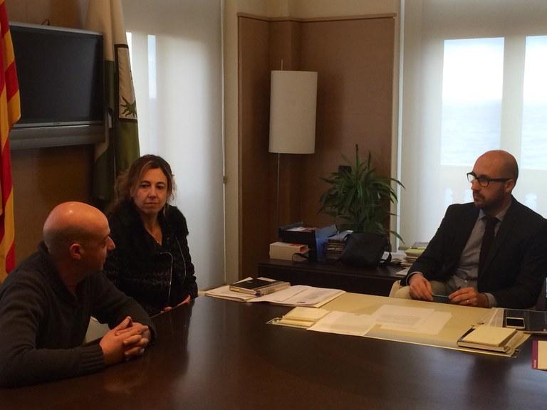 L'Ajuntament de Lloret signa un conveni amb la cooperativa Idària per inserir laboralment persones amb risc d'exclusió social