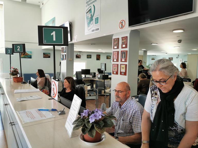 L'Oficina d'Informació Ciutadana de Lloret de Mar ha atès 4264 persones els mesos de juny i juliol