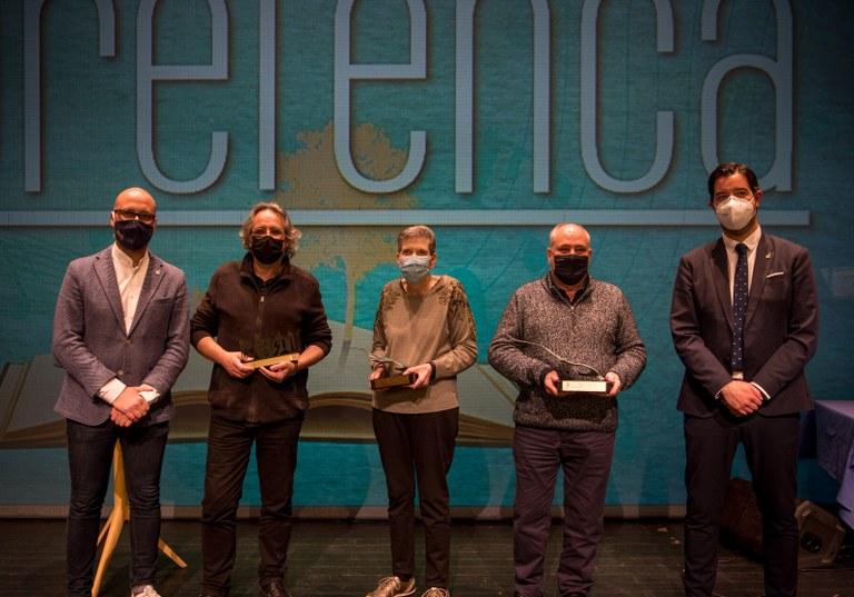 La lloretenca Angelina Cardona i Montphoto reben el Premi Sa Gavina 2020 i 2021 de la Festa de la Cultura Lloretenca