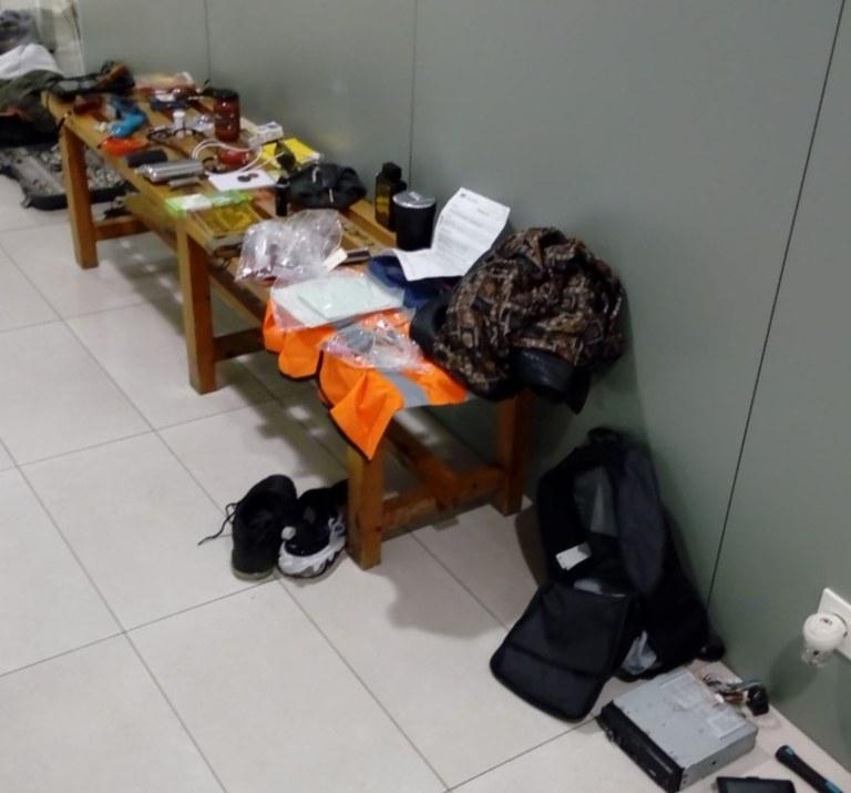 La Policia Local de Lloret de Mar deté al presumpte autor de robatori amb força a tretze vehicles