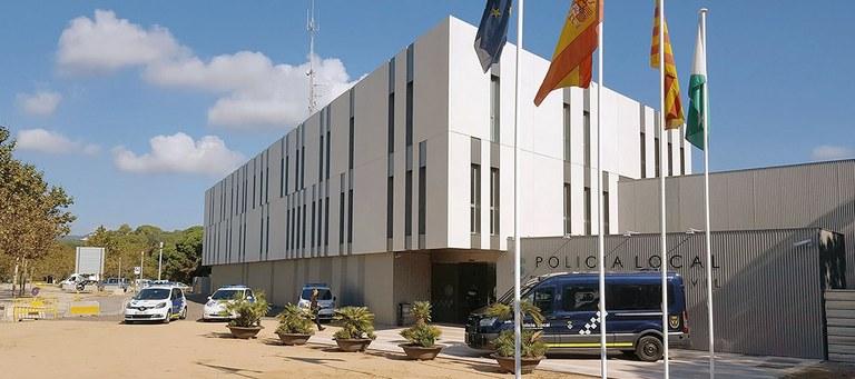 La Policia Local de Lloret de Mar deté dos dels autors d'un presumpte delicte de robatori a un habitatge
