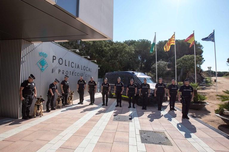 La Policia Local de Lloret deté a tres britànics per presumpte delicte contra la salut pública