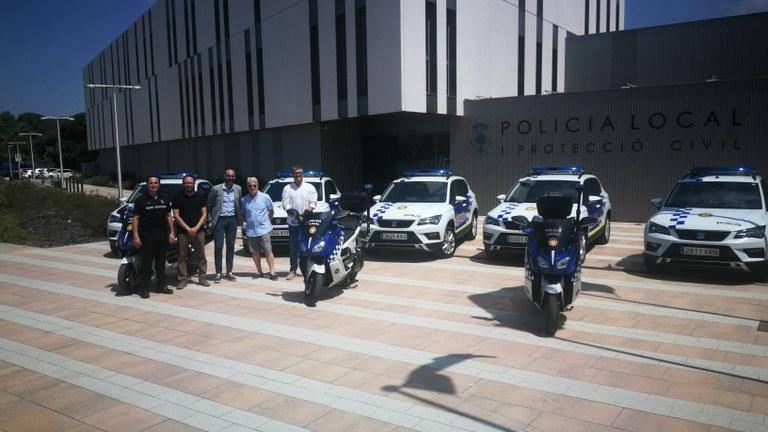 La Policia Local de Lloret renova el seu parc mòbil de vehicles