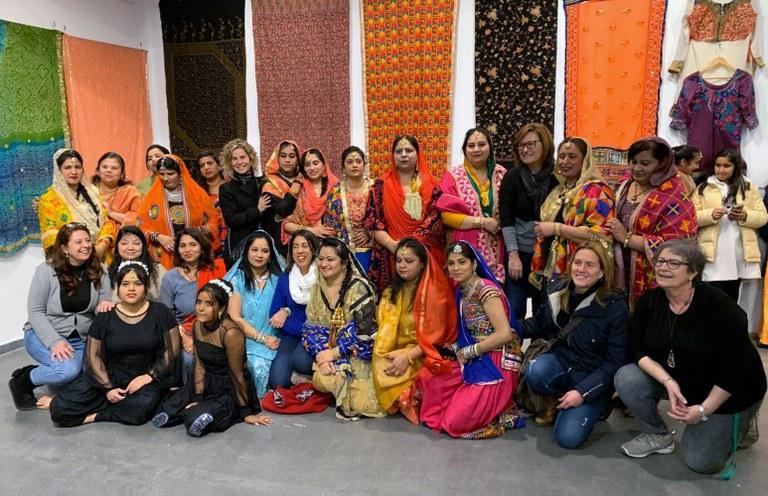 Les dones de l'Índia, protagonistes dels actes del Dia Internacional de la Dona a Lloret