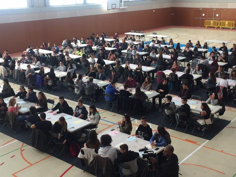 Les Proves Cangur, de matemàtiques, posen a prova 180 alumnes de Lloret i Tossa