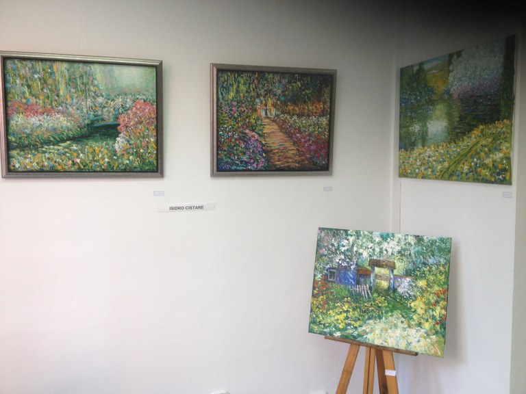 Lloret acull una exposició amb motiu del centenari del la mort del pintor Claude Monet