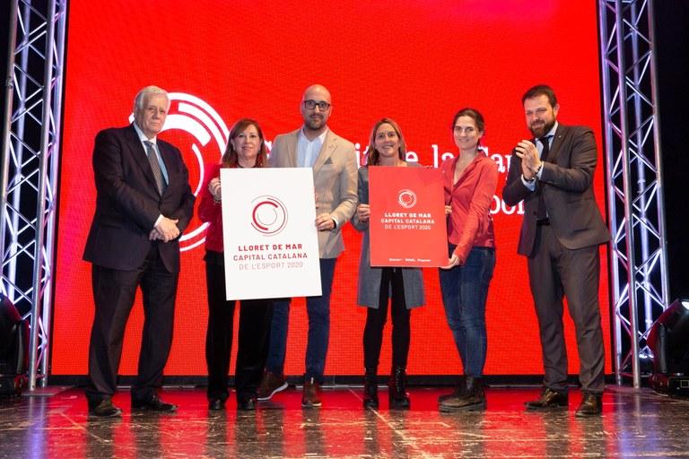 Lloret de Mar, Capital Catalana de l'Esport 2020