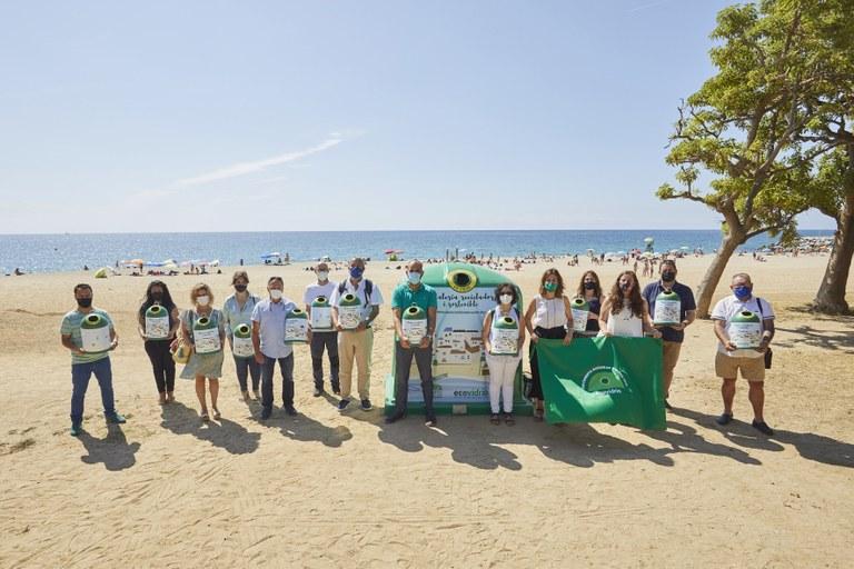 Lloret de Mar competirà aquest estiu per aconseguir la Bandera Verda d´Ecovidrio