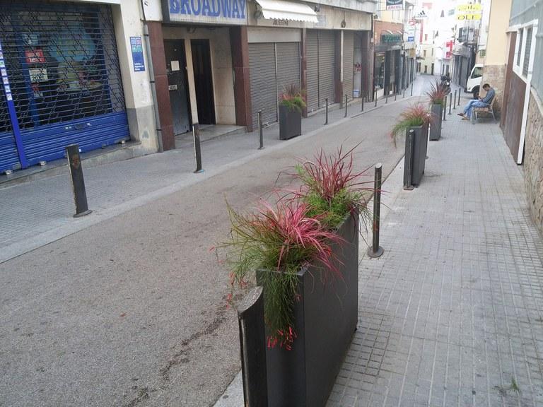 Lloret de Mar du a terme obres de revitalització del carrer del Carme, al nucli antic