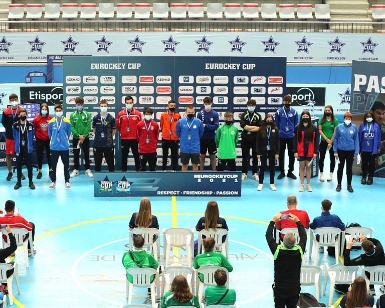 Lloret de Mar i Blanes acullen l'Eurockey Cup U17 i FEM17