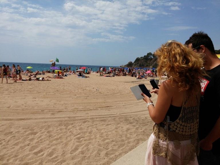 Lloret de Mar ofereix Wi–Fi gratuït a la platja